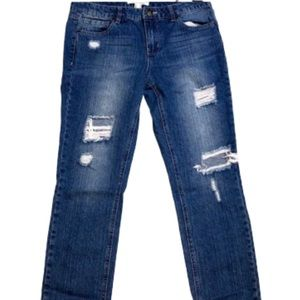 """""""Clearance"""" Life in Progress distressed jeans"""